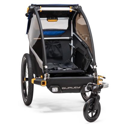 Jednoduchá zmena vozíka na nákladné - Burley Dlite Single